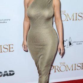 Η Kim Kardashian με Versace