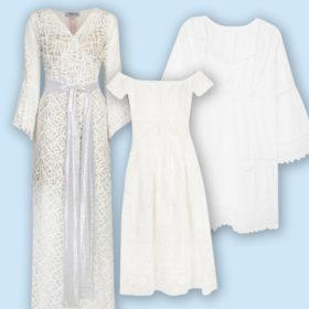Shop it! Τα πιο ωραία λευκά φορέματα που θα μπορούσατε να φορέσετε και αντί για νυφικό