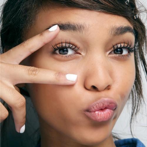 eyelashes, homepage image