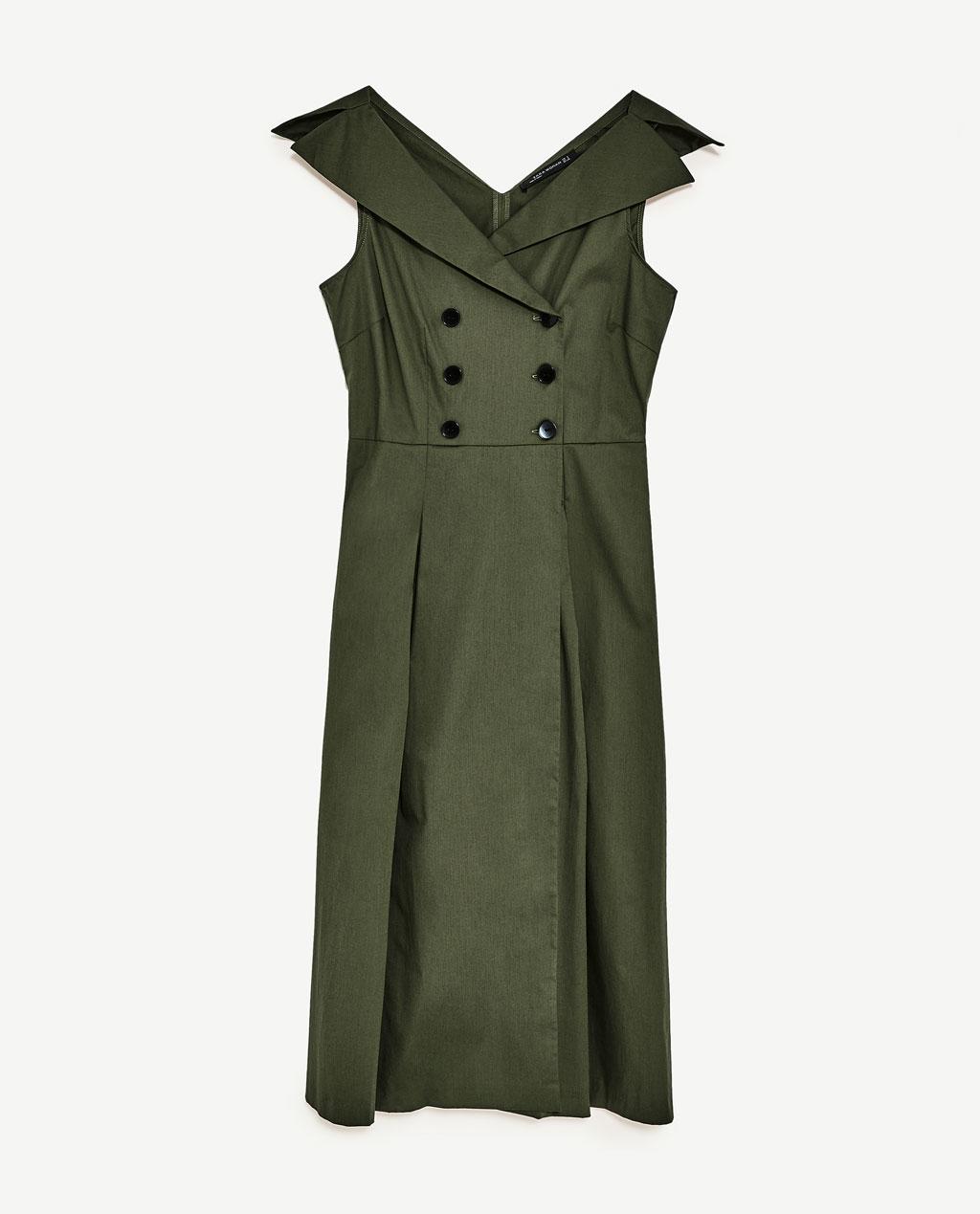 dress, zara