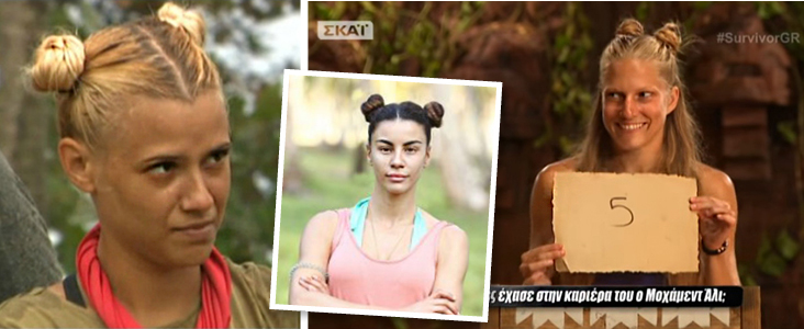 survivor, hair, double buns