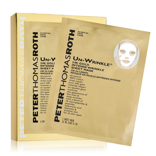 UN-WRINKLE® 24K GOLD INTENSE WRINKLE SHEET MASK