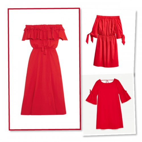 red dresses homepage image