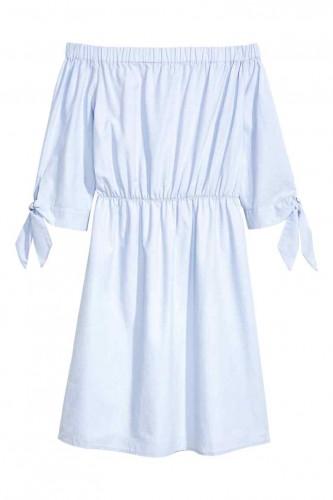 330d7bf5e409 Shades of blue  Αυτά τα H M φορέματα έχουν τις πιο ωραίες αποχρώσεις ...