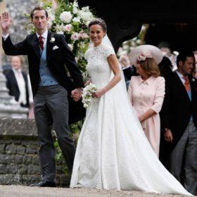 Η Pippa Middleton παντρεύτηκε! Το ρομαντικό νυφικό και το φόρεμα που επέλεξε η αδερφή της, Kate Middleton