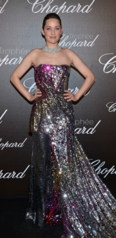 marion cotillard, mosaic, look of the day, dior