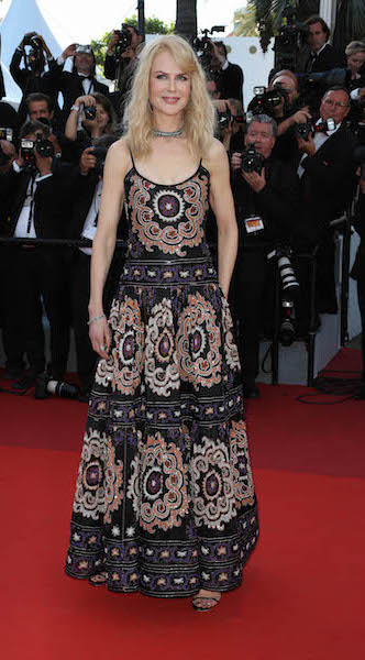 Celebrities arrive at the 70th Anniversary ceremony at the Cannes Film Festival in Cannes, France. Pictured: Nicole Kidman Ref: SPL1505129 240517 Picture by: Headlinephoto / Splash News Splash News and Pictures Los Angeles: 310-821-2666 New York: 212-619-2666 London: 870-934-2666 photodesk@splashnews.com