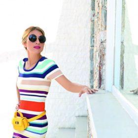 Μαρία Ηλιάκη: Με το κομψό κιμονό που κρύβει όλες τις ατέλειες