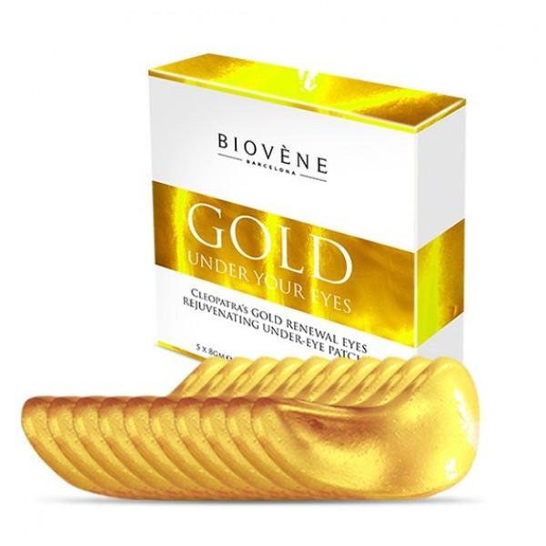 Biovene Cleopatra Gold Renewal Eyes Επιθέματα Ματιών