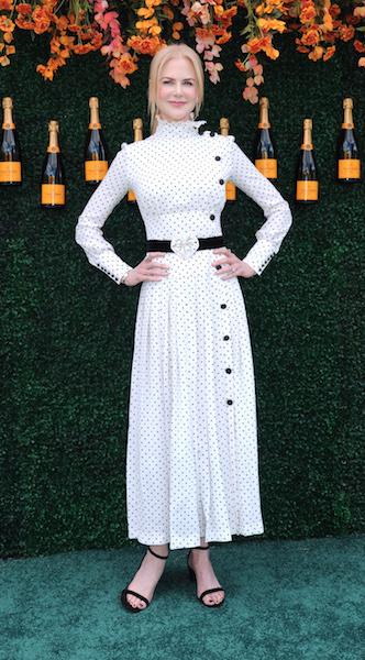 Celebrities attend the 10th Annual Veuve Clicquot Polo Classic event held at Liberty State Partk in Jersey City, New Jersey. Pictured: Nicole Kidman Ref: SPL1511518 030617 Picture by: Photo Image Press / Splash News Splash News and Pictures Los Angeles: 310-821-2666 New York: 212-619-2666 London: 870-934-2666 photodesk@splashnews.com