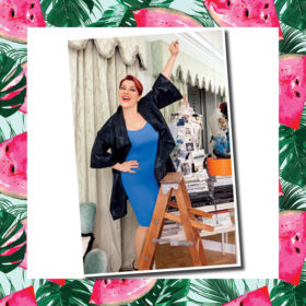 Η Κατερίνα Ζαρίφη φόρεσε τα τέλεια skinny jeans στο Summer Fashion! Summer Beauty! @ The Mall Athens by InStyle