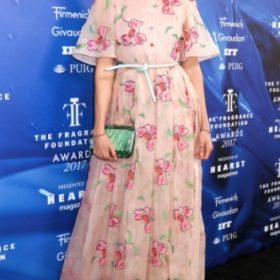 Η Karlie Kloss με Carolina Herrera