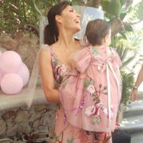 Σίσσυ Φειδά: Δείτε τη φανταστική μπομπονιέρα που έδωσε στη βάφτιση της κόρης της