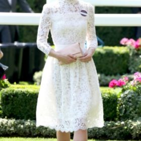 H Kate Middleton με Alexander McQueen