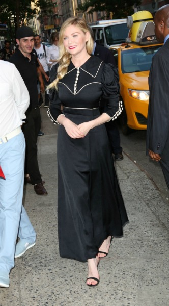 kirsten dunst, mosaic, look of the day