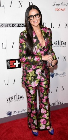 demi moore, mosaic, look of the day