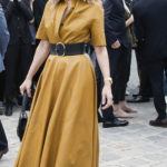 Celebrities at the Christian Dior Fall-Winter show 2017 at Paris Fashion week. Pictured: Celine Dion Ref: SPL1532032 040717 Picture by: Headlinephoto / Splash News Splash News and Pictures Los Angeles: 310-821-2666 New York: 212-619-2666 London: 870-934-2666 photodesk@splashnews.com