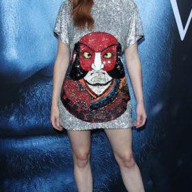 Η Sophie Turner με Louis Vuitton