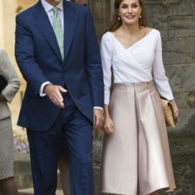 Η Βασίλισσα Letizia με Topshop
