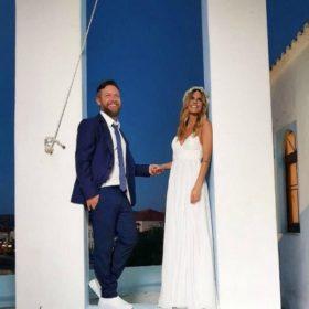 Νατάσα Σκαφιδά: Μάθαμε σε ποιο ελληνικό brand ανήκει το φανταστικό νυφικό που φόρεσε η γυναίκα του Γιάννη Βαρδή