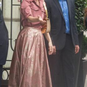 Η Celine Dion με Rochas