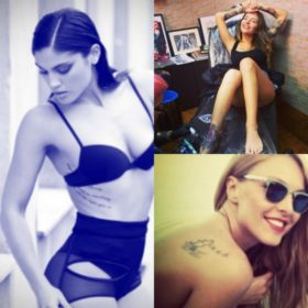 Ελληνίδες με tattoo: Δέκα γυναίκες της showbiz που τόλμησαν να «χτυπήσουν» έστω και ένα