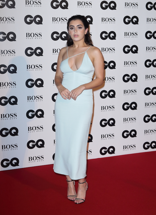 Red carpet arrivals for GQ Men Of The Year Awards at the Tate Modern London 2017 Pictured: Charlie XCX Ref: SPL1569636 060917 Picture by: AJPictures / Splash News Splash News and Pictures Los Angeles: 310-821-2666 New York: 212-619-2666 London: 870-934-2666 photodesk@splashnews.com