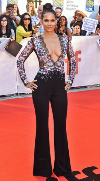 halle berry, mosaic, look of the day