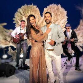 Χριστίνα Μπόμπα: Βρήκαμε το brand στο οποίο ανήκει το φόρεμα υπερπαραγωγή που επέλεξε στο γάμο του Acun Ilicali