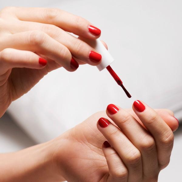 red-nail-polish