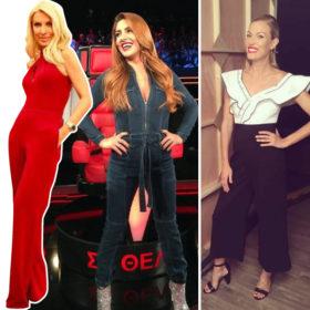 Έλενα Παπαρίζου-Ελένη Μενεγάκη-Βίκυ Καγιά: Γιατί διαλέγουν όλες αυτό το ρούχο;