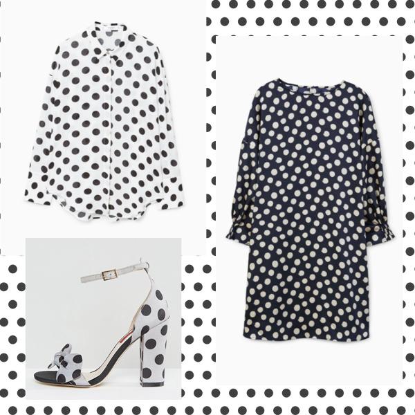 Polka dots shopping