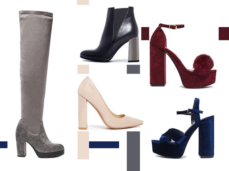 migato block heels
