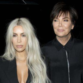 Twins! Η Kris Jenner με πλατινέ μαλλιά είναι ίδια η Kim Kardashian
