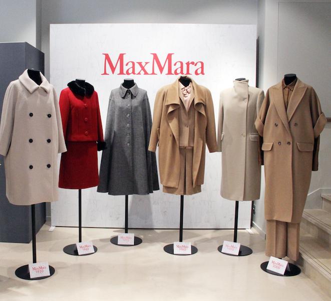 Τα υπέροχα Max Mara iconic παλτό μέσα στις δεκαετίες