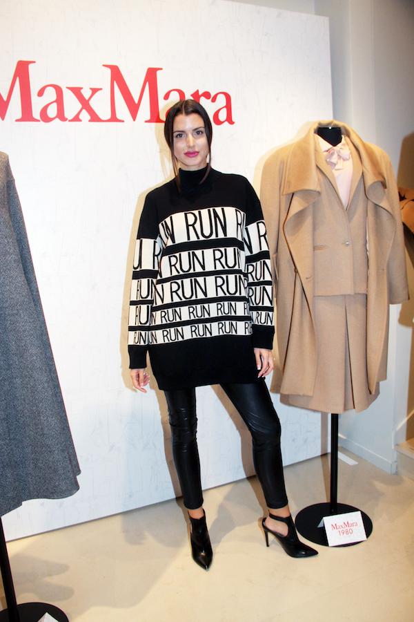 Η fashion blogger Βάγια Καλατσανίδου