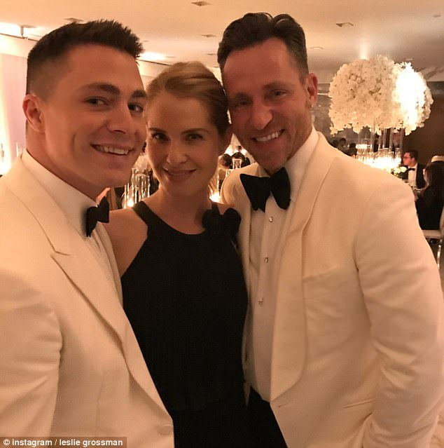 Colton Haynes wedding