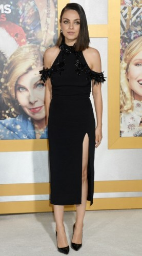 mila kunis, look of the day, mosaic