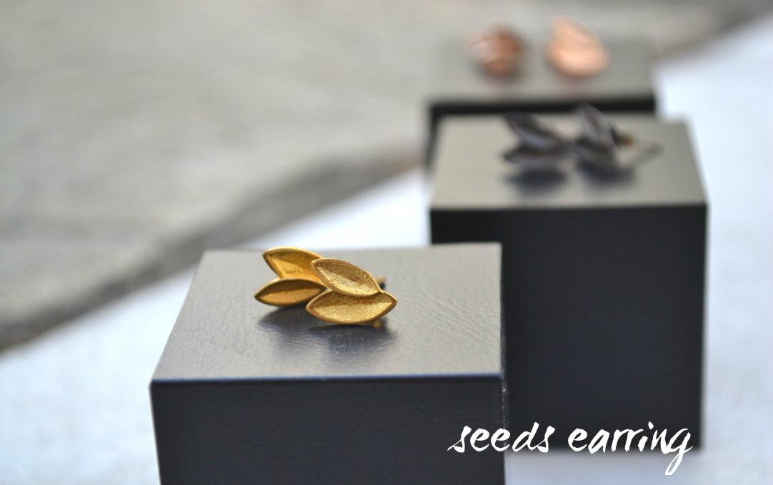 seeds earings
