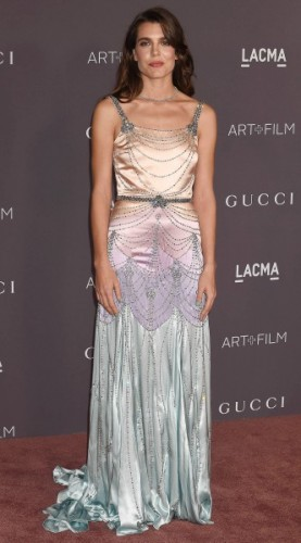 charlotte casiraghi, mosaic, look of the day