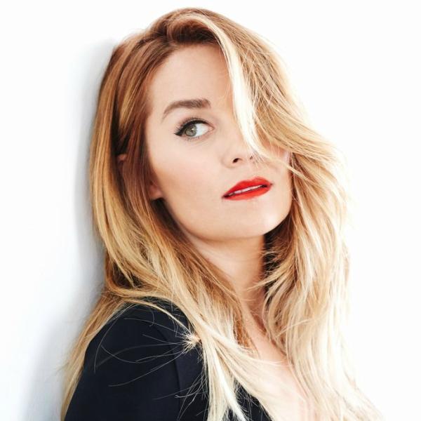 lauren conrad, homepage image, red lips, cat eyeliner