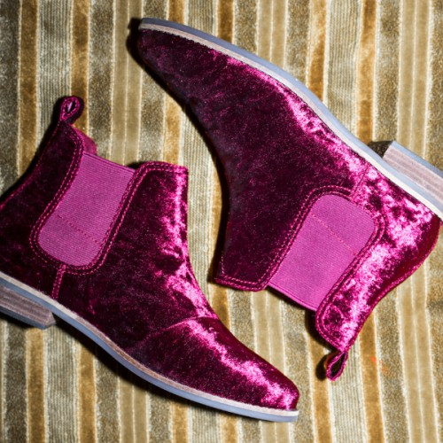 toms velvet boots, homepage image