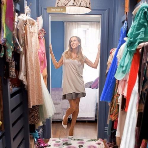 carrie closet, home