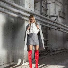 Φαίη Σκορδά: Το outfit που επέλεξε σε έξοδο με τη μητέρα της και τον μικρότερο γιο της