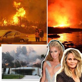 Μεγάλη πυρκαγιά απειλεί τα σπίτια των celebrities στο Los Angeles