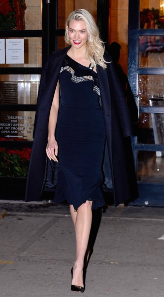 karlie kloss, mosaic, look of the day