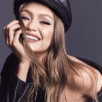 gigi hadid, homepage image, maybelline, nude lips,