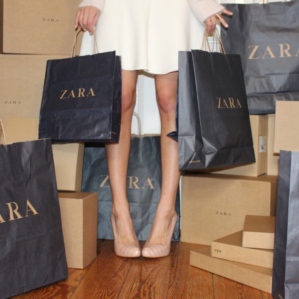 zara shopping, homepage image