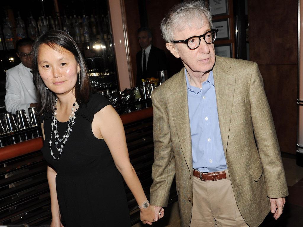 O Woody Allen με τη Soon-Yi