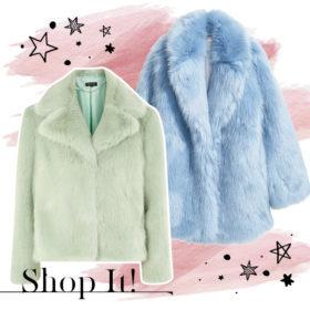 Η οικολογική γούνα είναι το μόνο που χρειάζεστε για να αντιμετωπίσετε το κρύο με στιλ